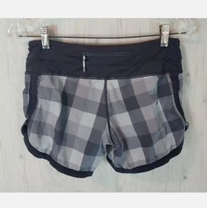 Lululemon Groovy Run Shorts Size 4 Grey Pl…